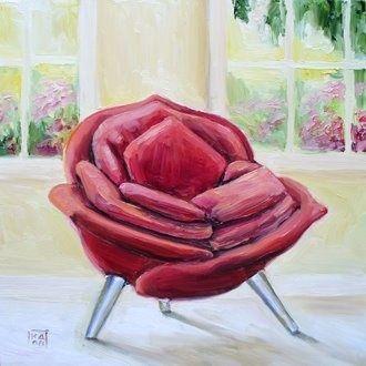 Rose Chair By Masanori Umeda By Artist Kimberly Applegate On