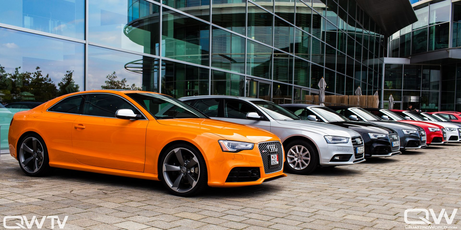 Solar Orange RS And European Delivery QuattroWorld Audi A - Audi european delivery