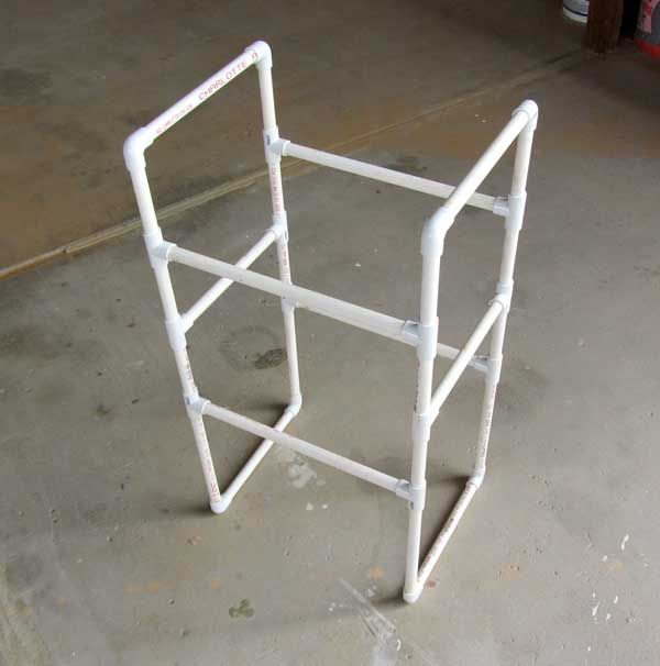 FREE Download: How To Build A PVC Pipe Rack Storage System ...