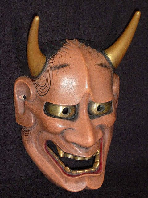 Hannya Mask. Check out it's meaning or get your own Mask at http://www.tokyomask.com