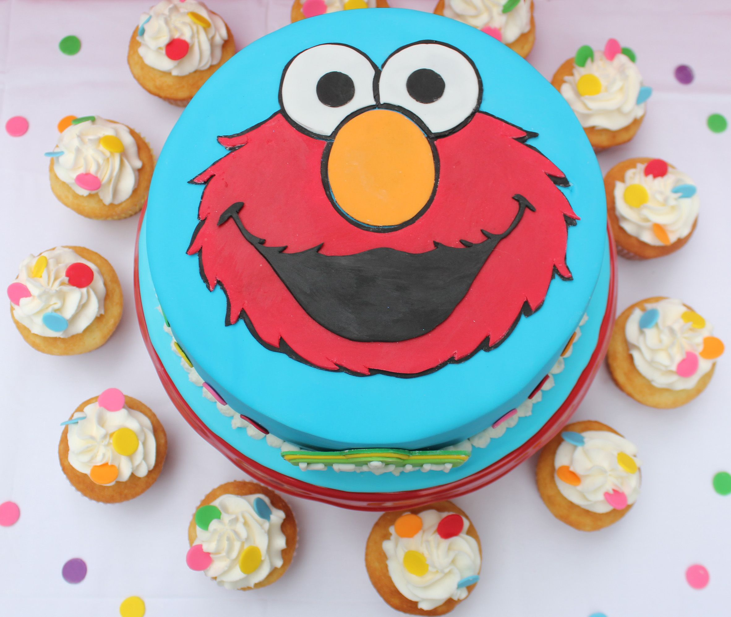 Elmo Cake Pasteles Y Galletas Pinterest Pastelitos Cumple Y
