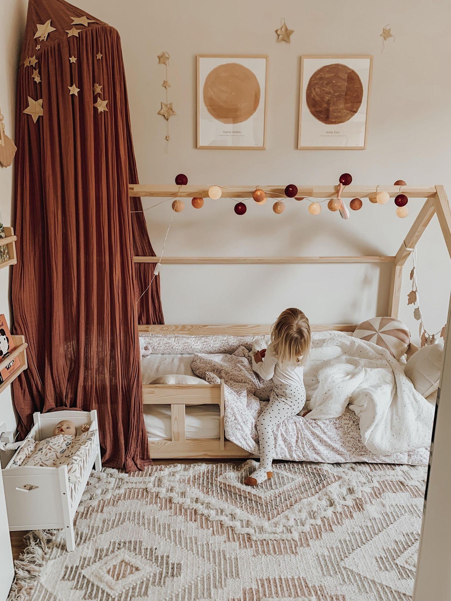 Kinderzimmer im gemütlichen nordischen Stil