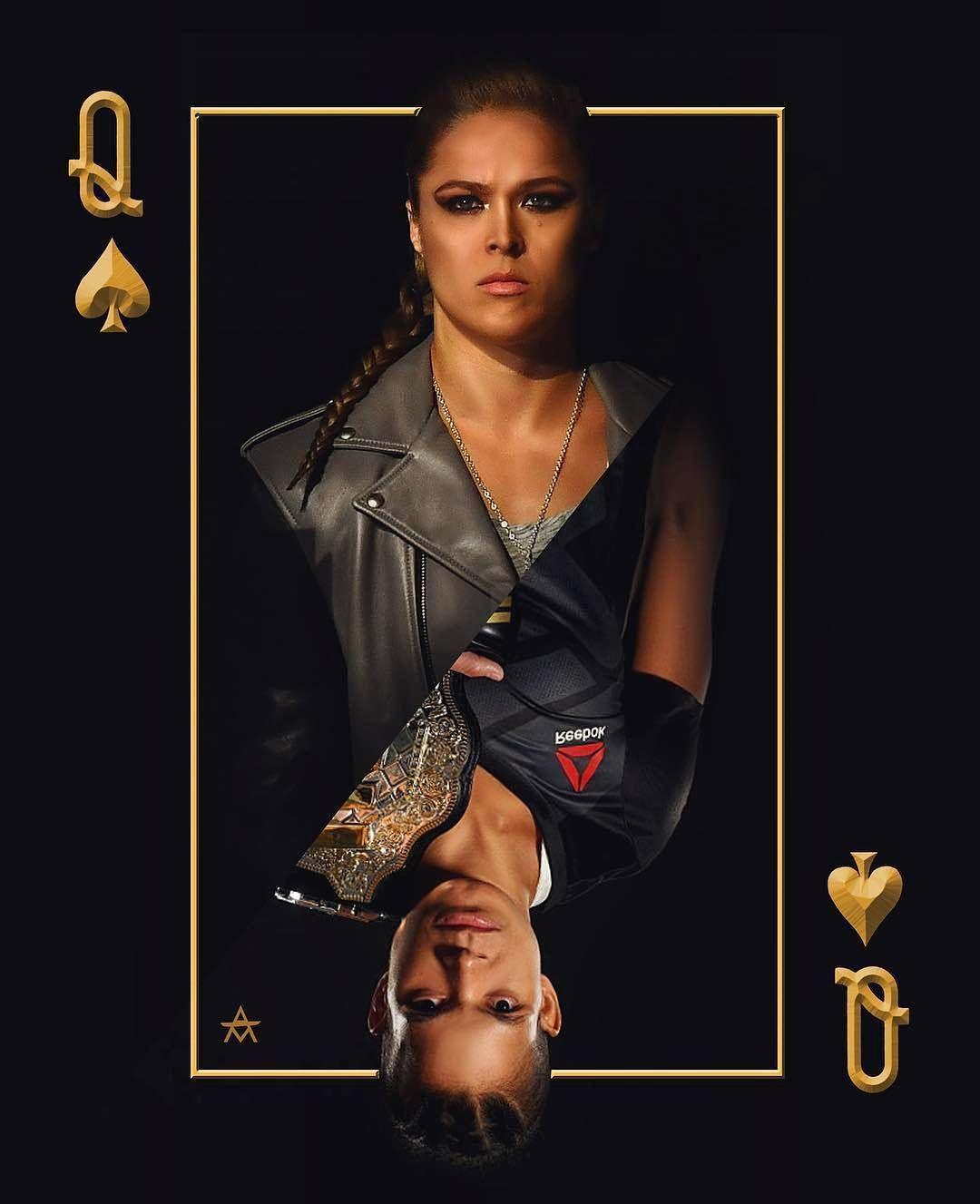 Fear the Return. Ronda Rousey V Amanda Nunes art by Alex Murillo