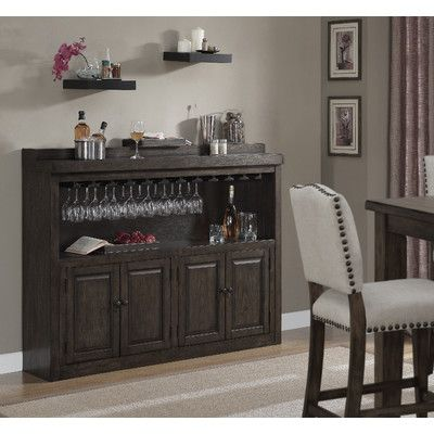 american heritage martino bar cabinet with wine storage u0026 reviews wayfair