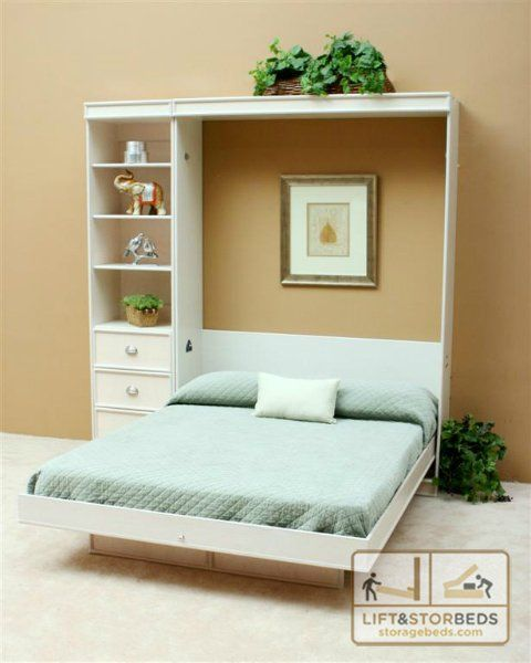 Arizona Murphy Wall Beds Whitewashed Basement