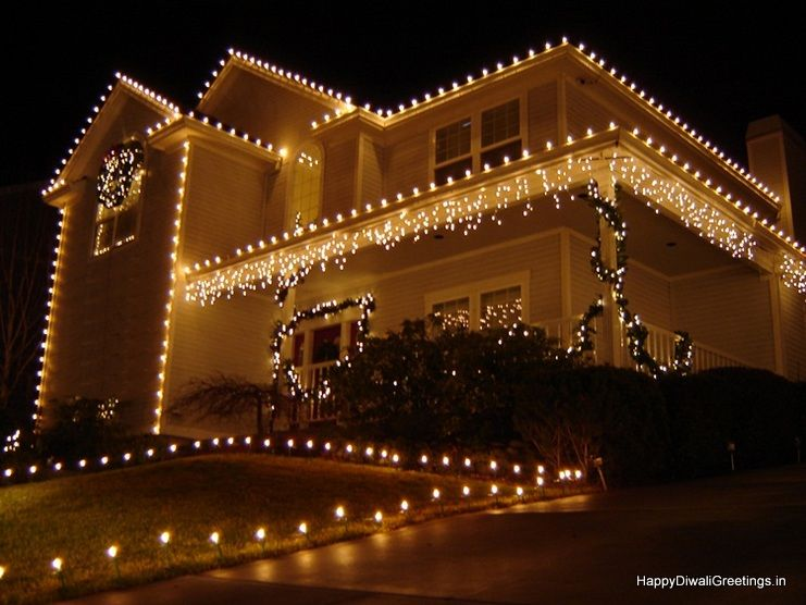 Beautiful 15 Diwali Lighting Decoration Ideas For Home 2015 Christmas House Lights Decorating With Christmas Lights Christmas Decorations For The Home