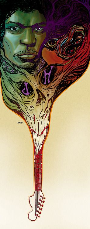 Hendrix by Dave Johnson