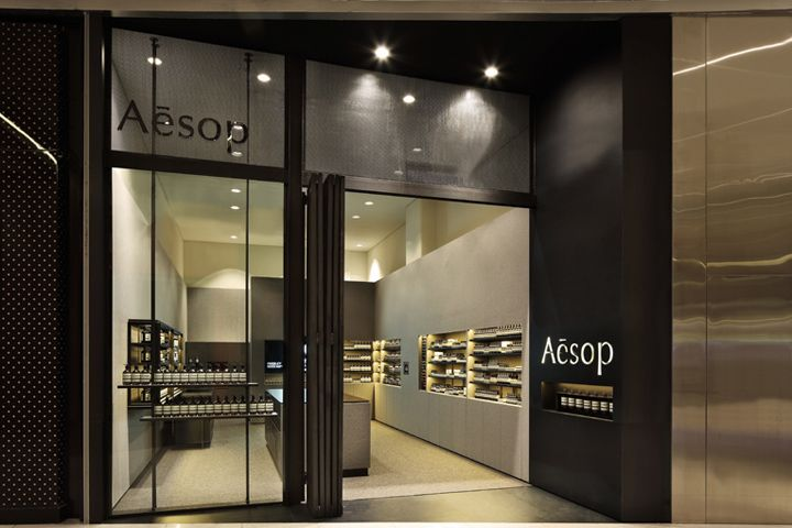 Aesop store by kerstin thompson architects singapore for Exterior design of a retail store