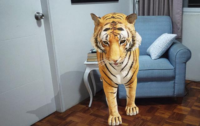 كيفية عرض حديقة حيوانات 3d ثلاثية الأبعاد في منزلك