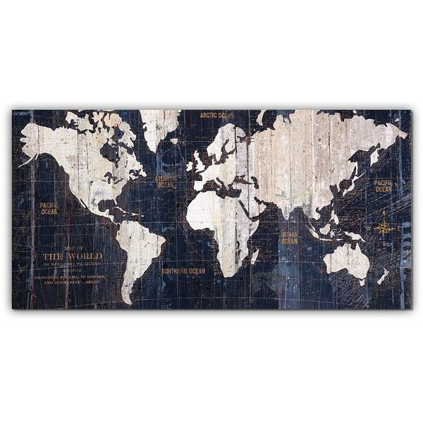 Master pieces old world map graphic art on gallery wrapped canvas master pieces old world map graphic art on gallery wrapped canvas gumiabroncs Gallery
