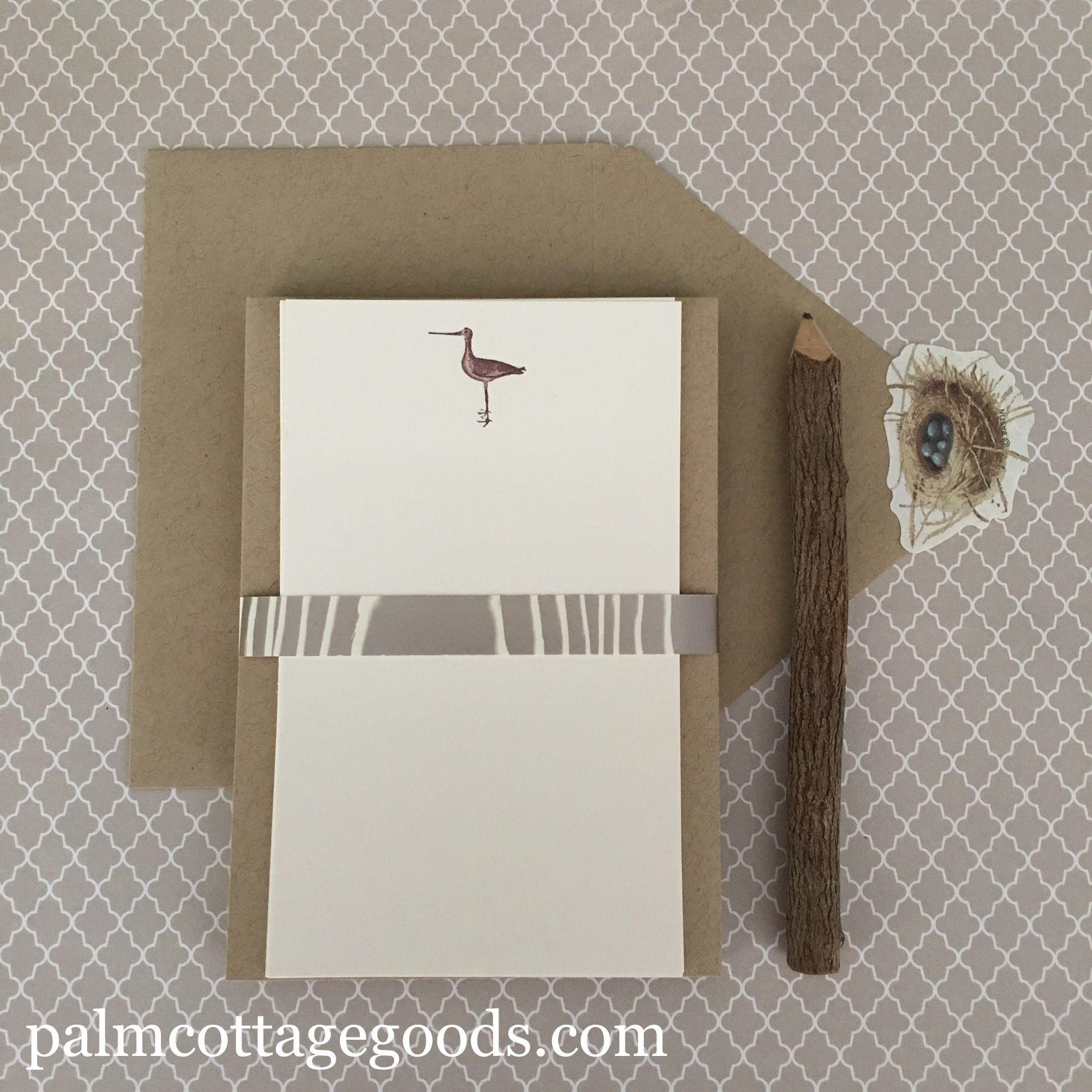 Sandpaper Tiny Notecards & Envelopes. Betty