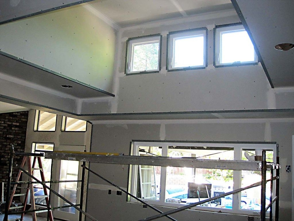 The Breaking Point Vaulted Living Rooms Dormer Windows Shed Dormer