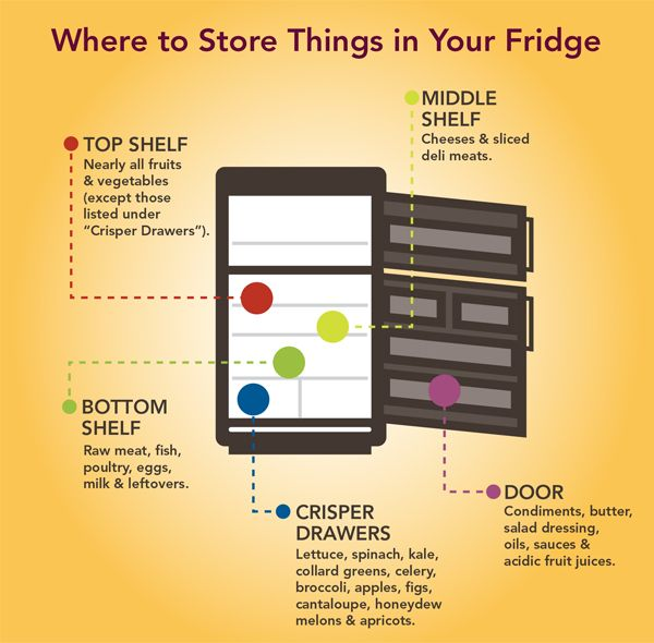 Read These Important Food Safety Tips For Cleaning Your Refrigerator Storage Guide