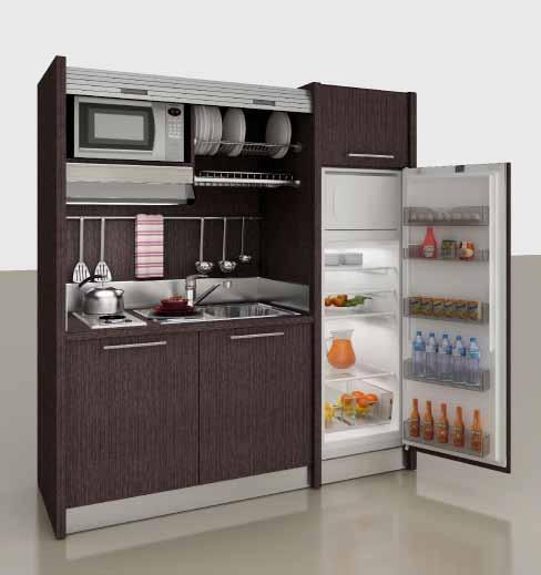 Mini küchenzeile  Pantry-Küche K 109, Mini-Küche | Pantry Single Mini Küchen ...