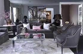 Dark Grey Hint Of Lavender White And Black Living Room Living Room Grey Gray Living Room Design Living Room Decor Gray