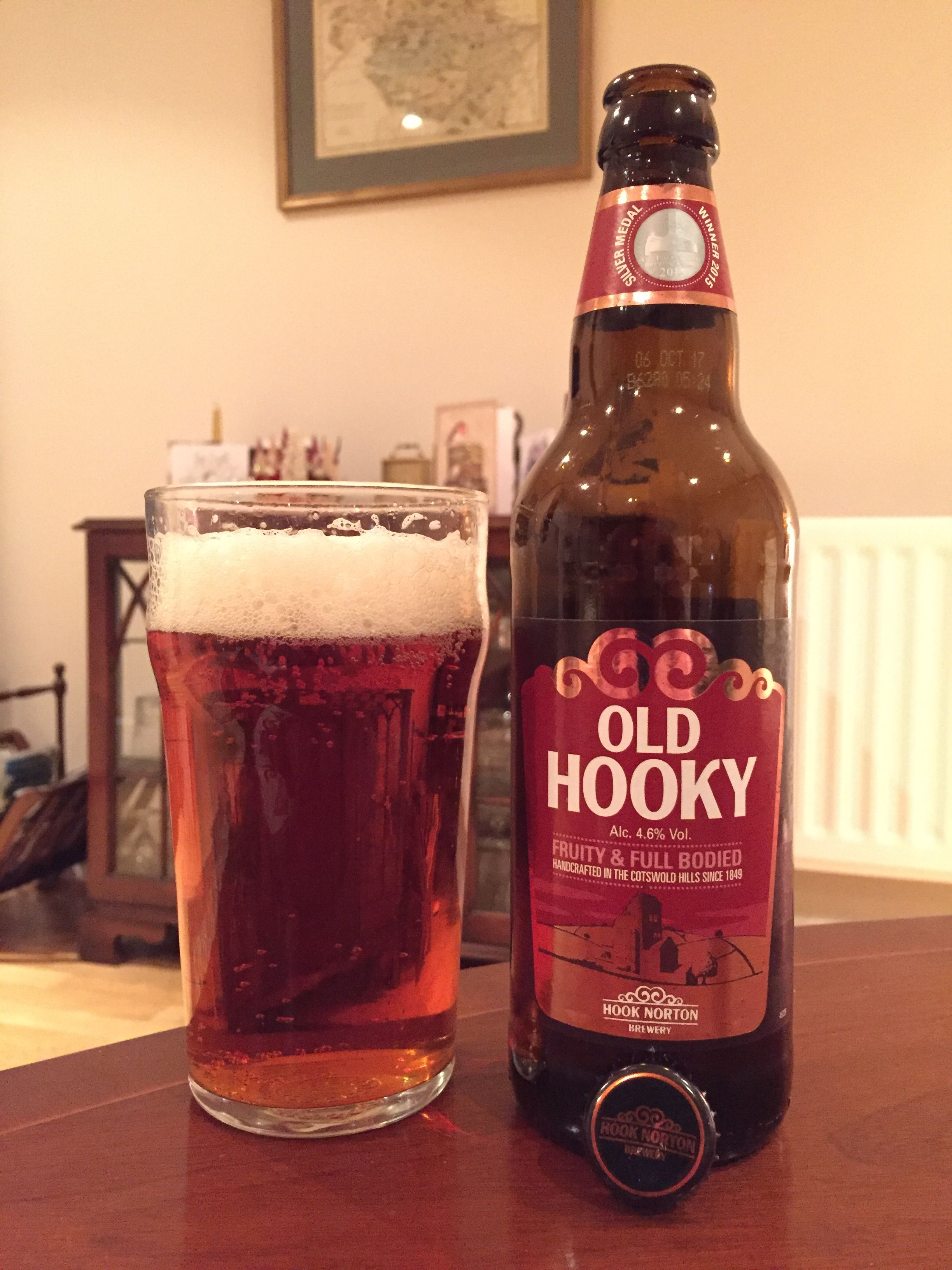 Old Hooky Hook Norton Brewery 2016 12 26 Beer Bar British Beer Beer