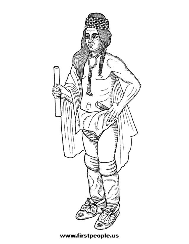 native american history coloring pages - photo#7