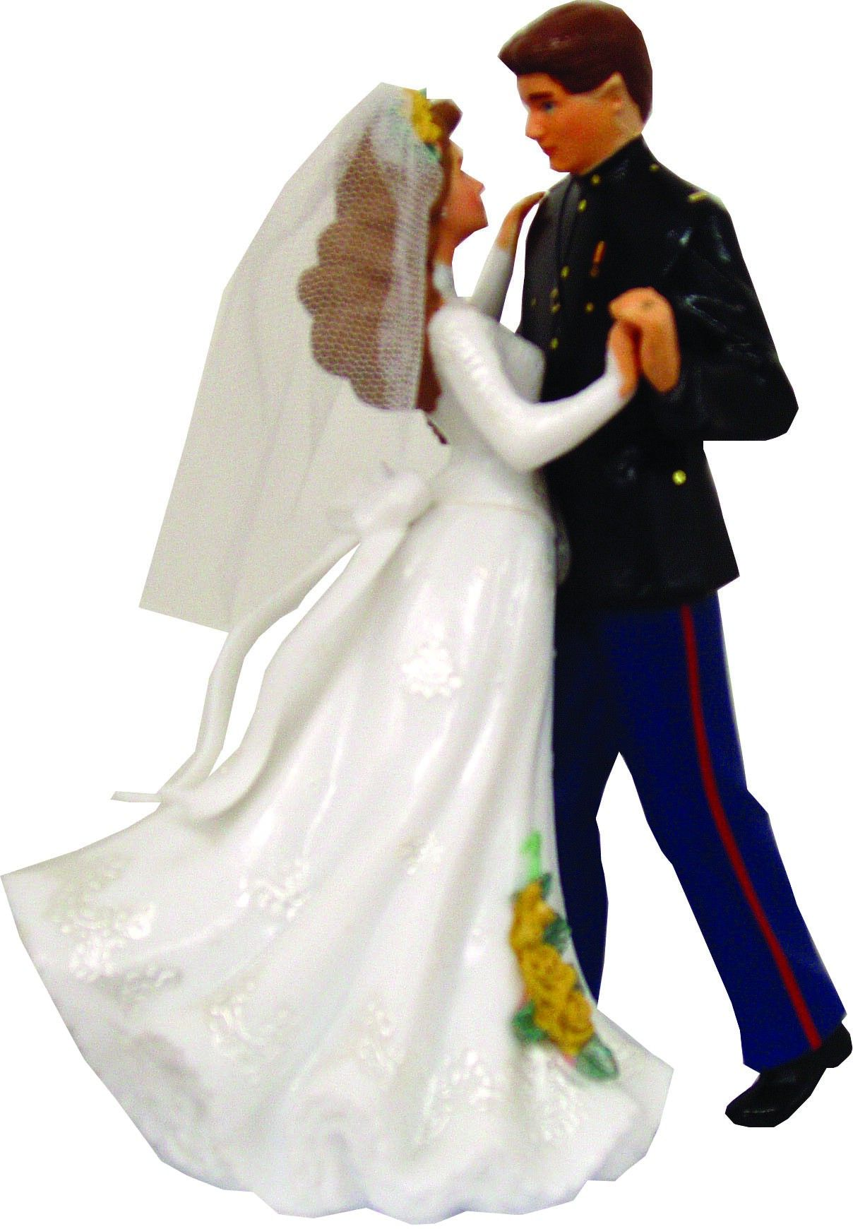 marine officer wedding cake toppers wedding cake topper officer sgt grit marine corps 17134