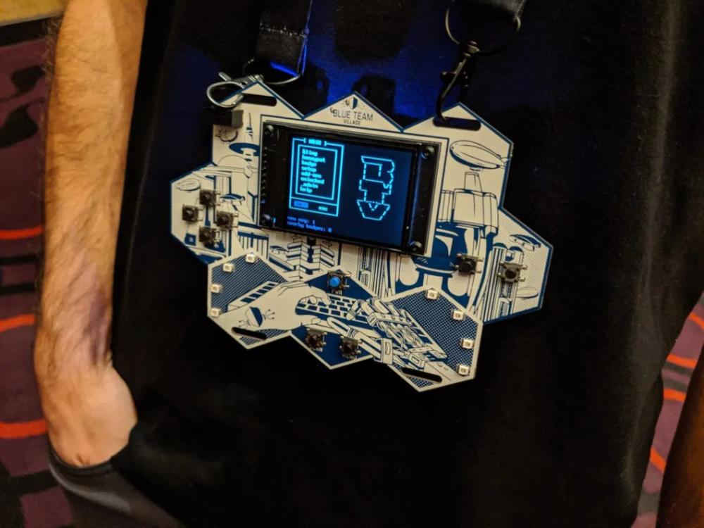 44++ Con badge info