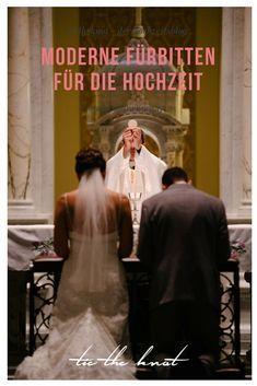 Fürbitten für die Hochzeit: Tipps und Vorlagen für die Messe ...