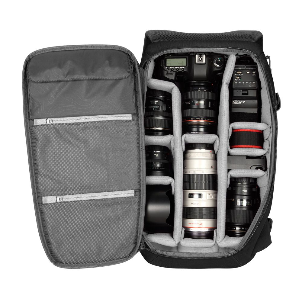The DSLR Pro Pack is our largest capacity camera bag providing ...