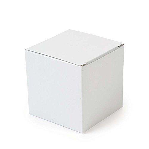 12 White Mini Gift Boxes 5cm Cube Cardboard Gift Boxes Amazon