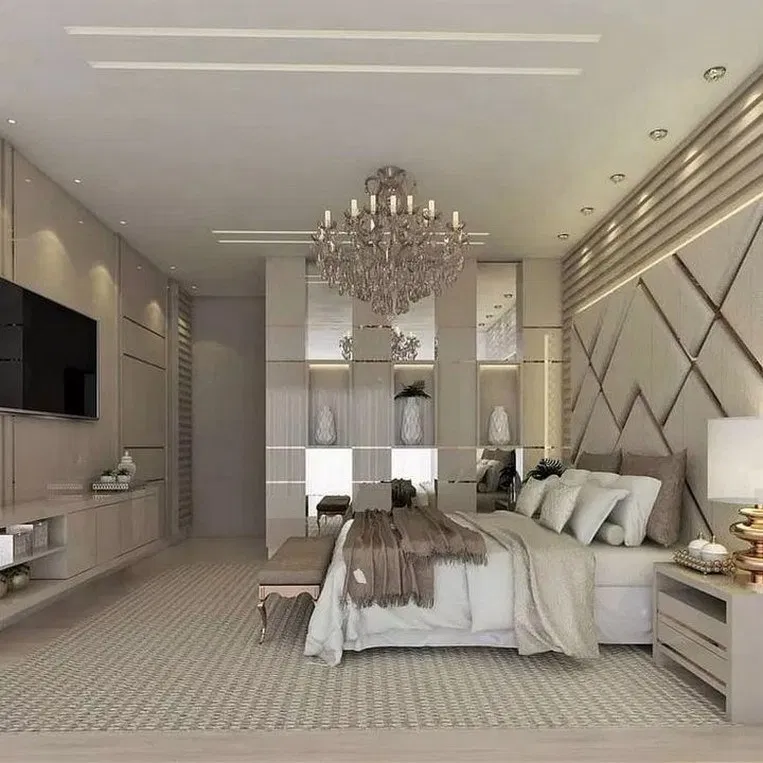 21 best master bedroom ideas your dreaming room 35 #bedroom #masterbedroom #bedroomdesign | Home