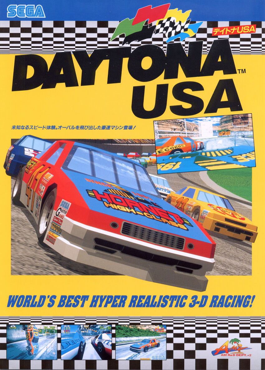 Daytona Usa Classic Video Games Vintage Video Games Video Game