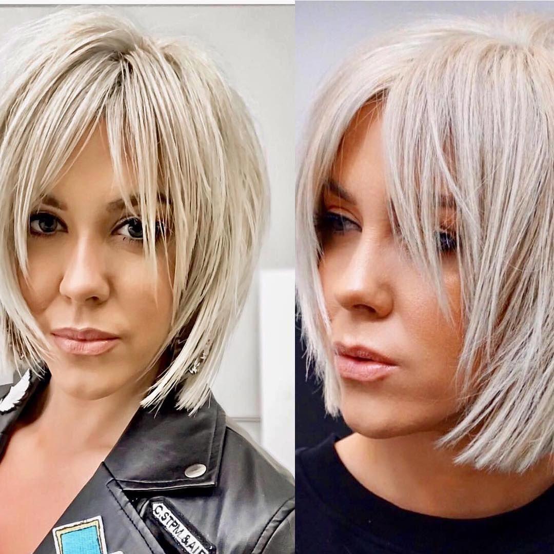 Dicasmodafemininas Hairstyle Haircolorist Lorealbrasil Helenosbsrecreio Adicasmodafemininas In 2020 Haircuts For Medium Hair Short Hair Styles Above Shoulder Hair