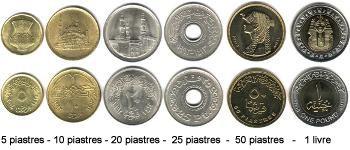 Monnaie Egyptienne Les Piastres Et La Livre World Coins