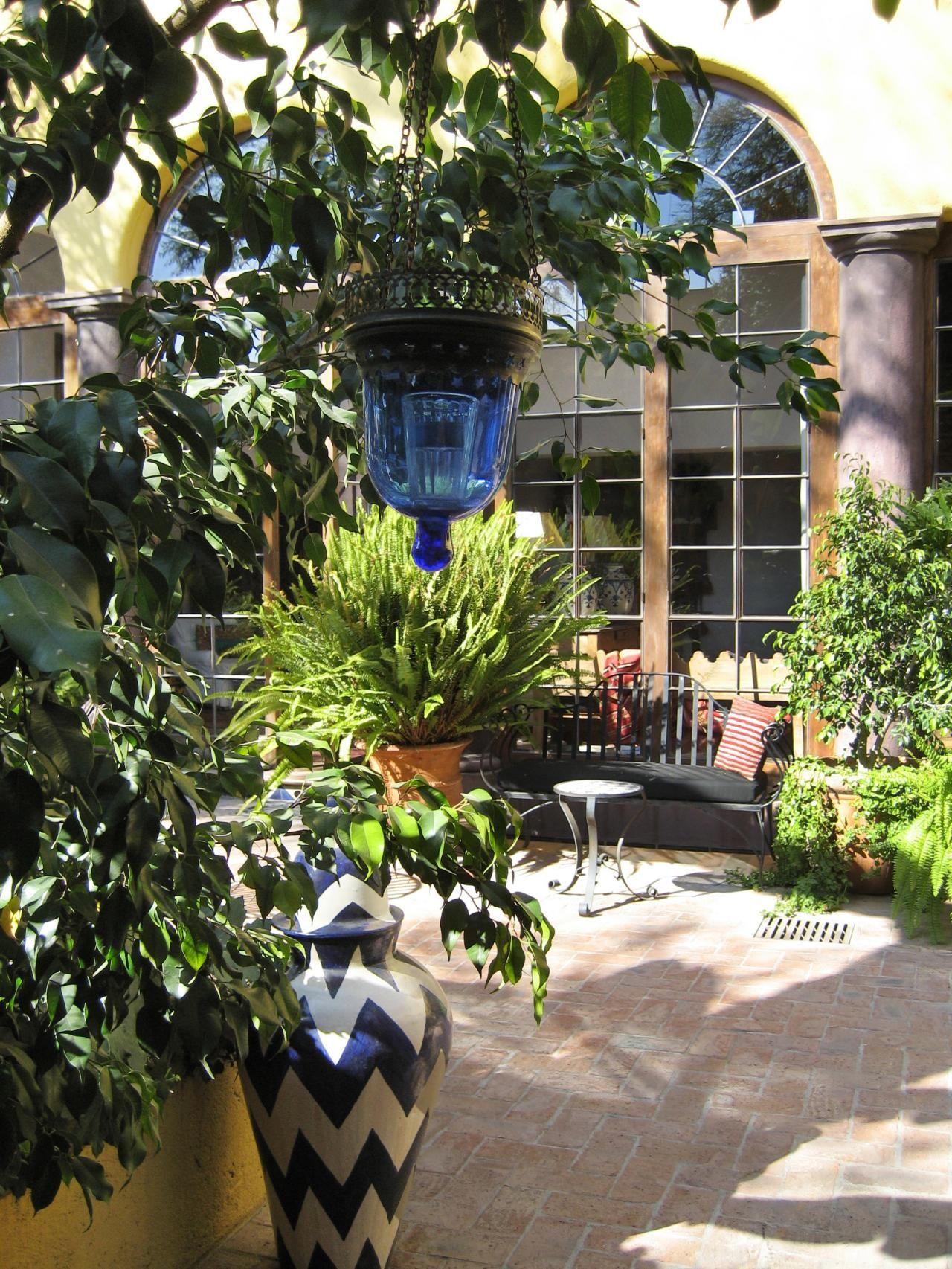 Small courtyard garden inspiration  Cozy Intimate Courtyards  Courtyard inspiration  Pinterest