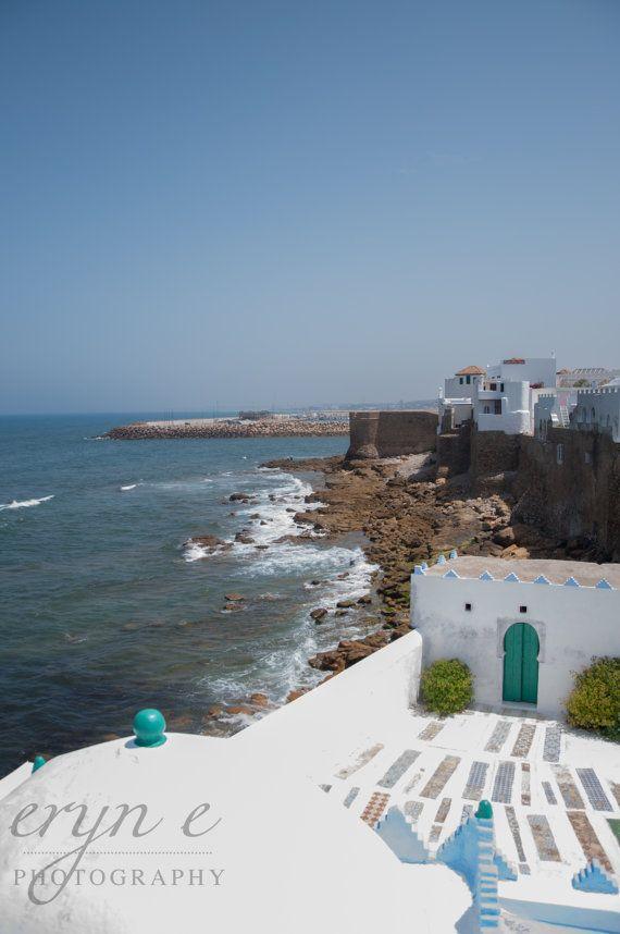 asilah morocco waterfront kasbah atlantic ocean africa travel photography