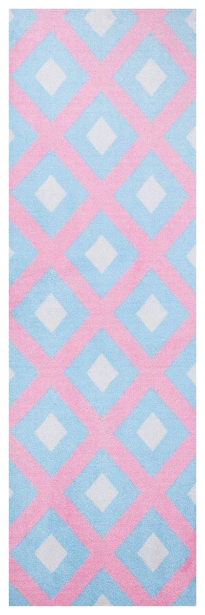 Laufer Elin Pink Teppich Teppich Rosa Fussmatte
