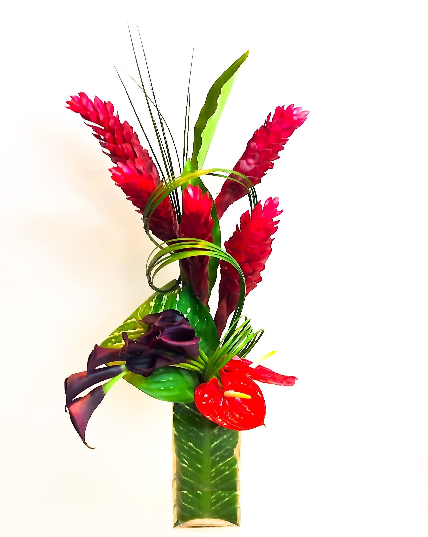 Modern Tropical Fl Arrangement Designed By Steven Bowles