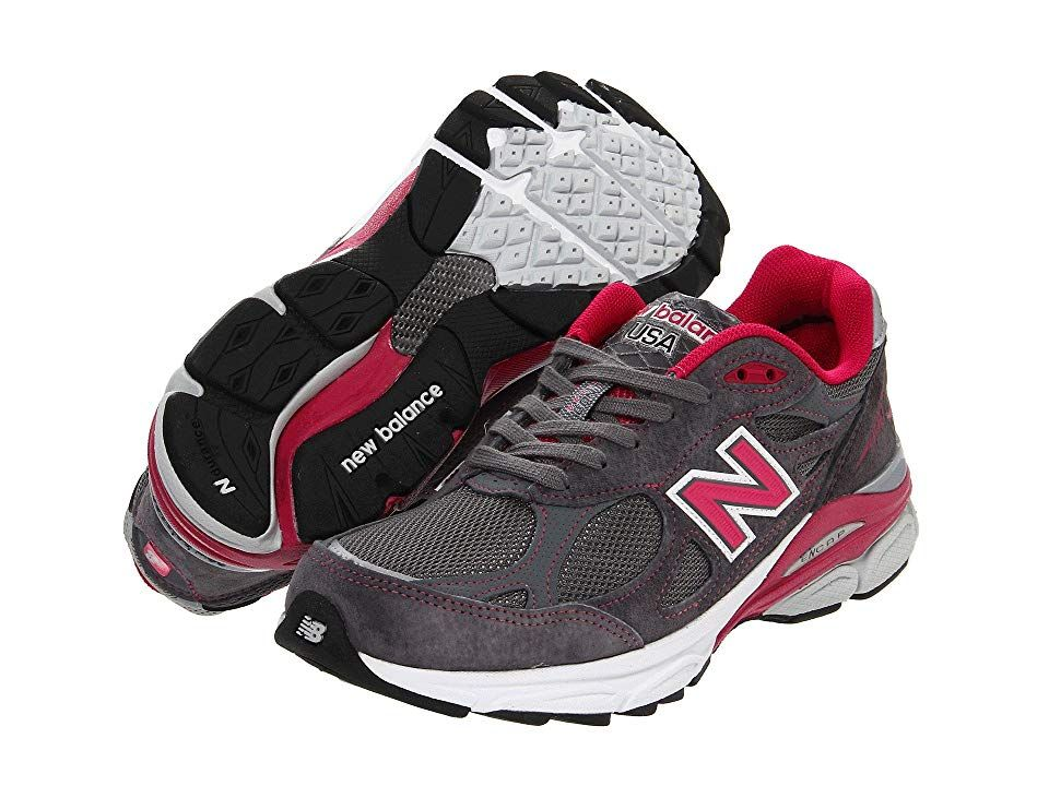 sports shoes 4d157 cc9fe New Balance W990v3 (Grey Pink) Women s Running Shoes. The classic design  combined with the reliable cushioning and support of the New Balance W990  are sure ...