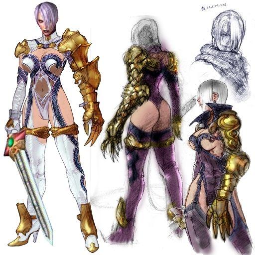Warriors Orochi 4 Soul Calibur: Ivy Valentine♡