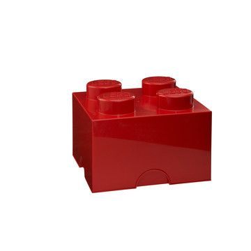 Storage Brick 4 Red now featured on Fab.