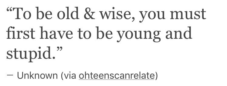 to the parents who want their kids to be perfect from the beginning ~ it's not gonna happen