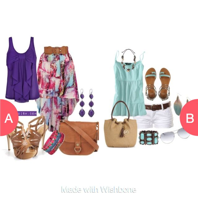 Which summer outfit? Click here to vote @ http://getwishboneapp.com/share/4825253