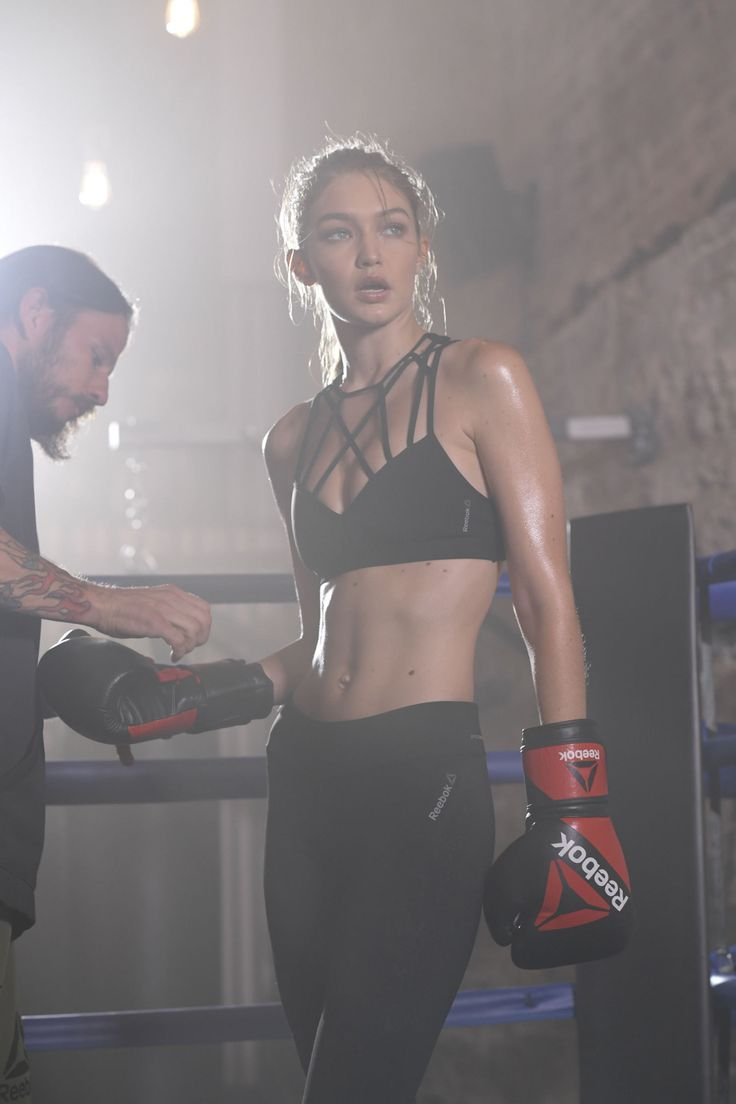 e54f31e098306a Gigi Hadid Shows Off Her Boxing Skills in New Reebok Campaign ...