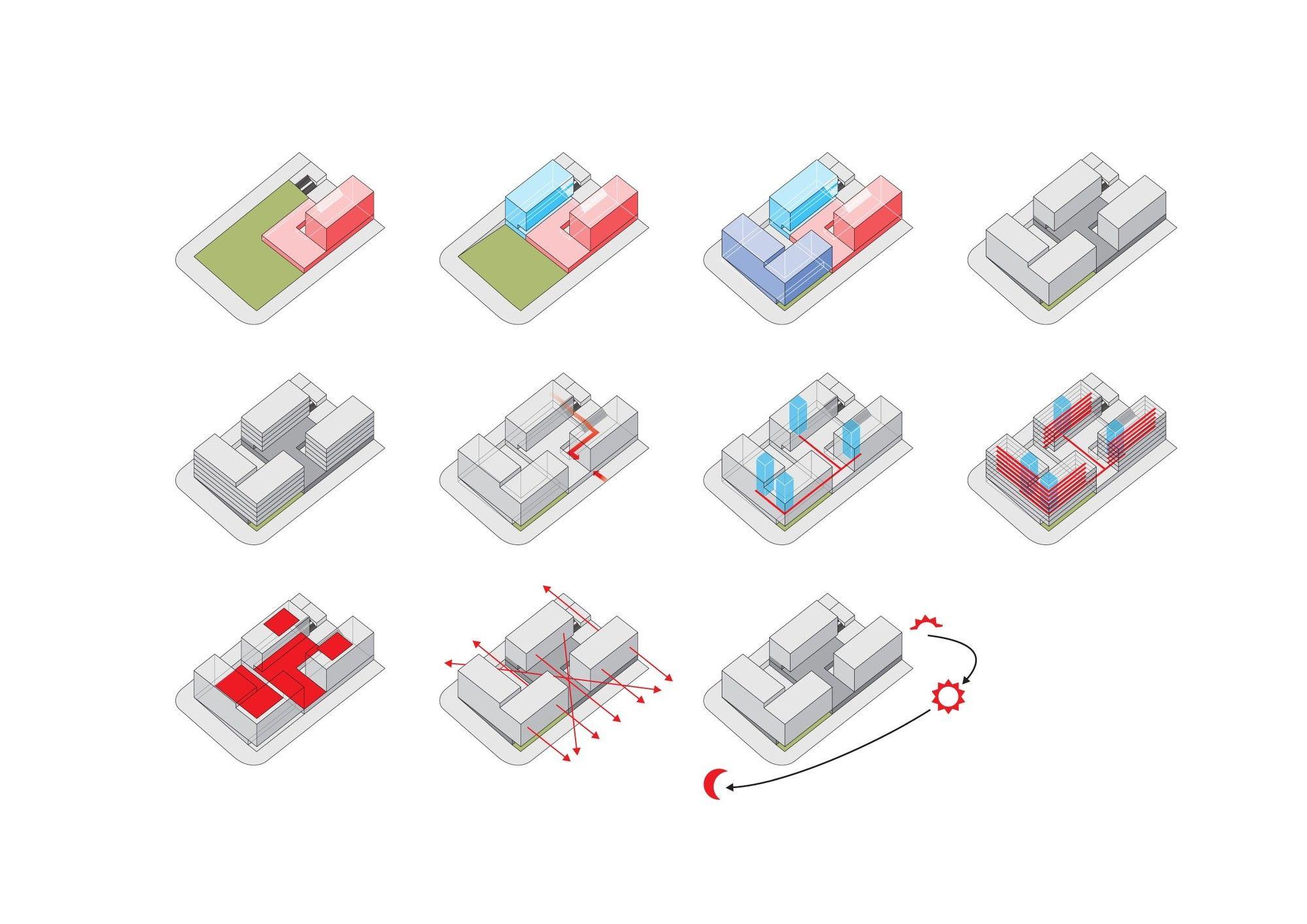 Galeria - Segundo Lugar no Concurso para a Residência Universitária no Campus da Ajuda / AND-RÉ Arquitectura - 12