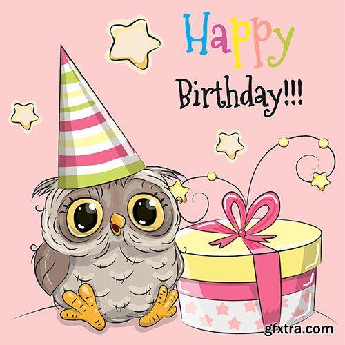 Cute Cartoon Owl Vector Photoshop Psdafter Effects Tutorials
