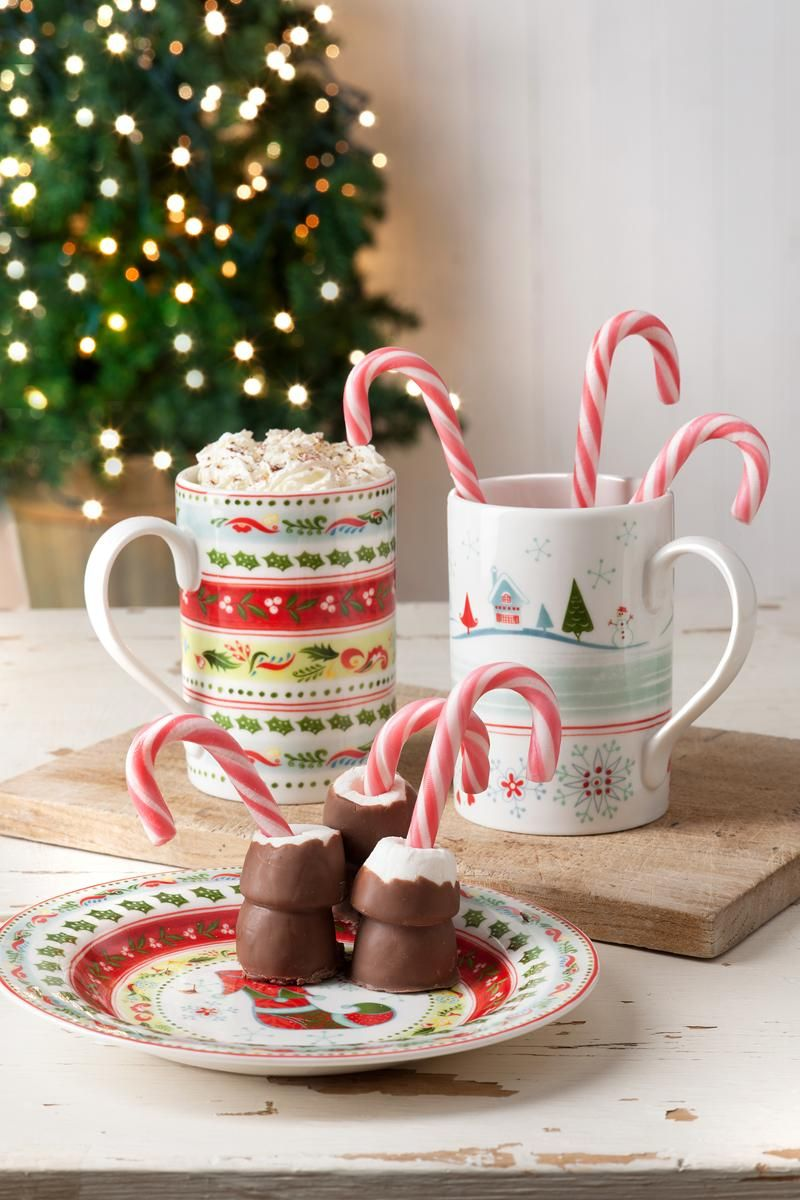 Each and every design in the range complements the other allowing you to build an enchanting mix and match Christmas tableware collection #ChristmasWish #Portmeirion