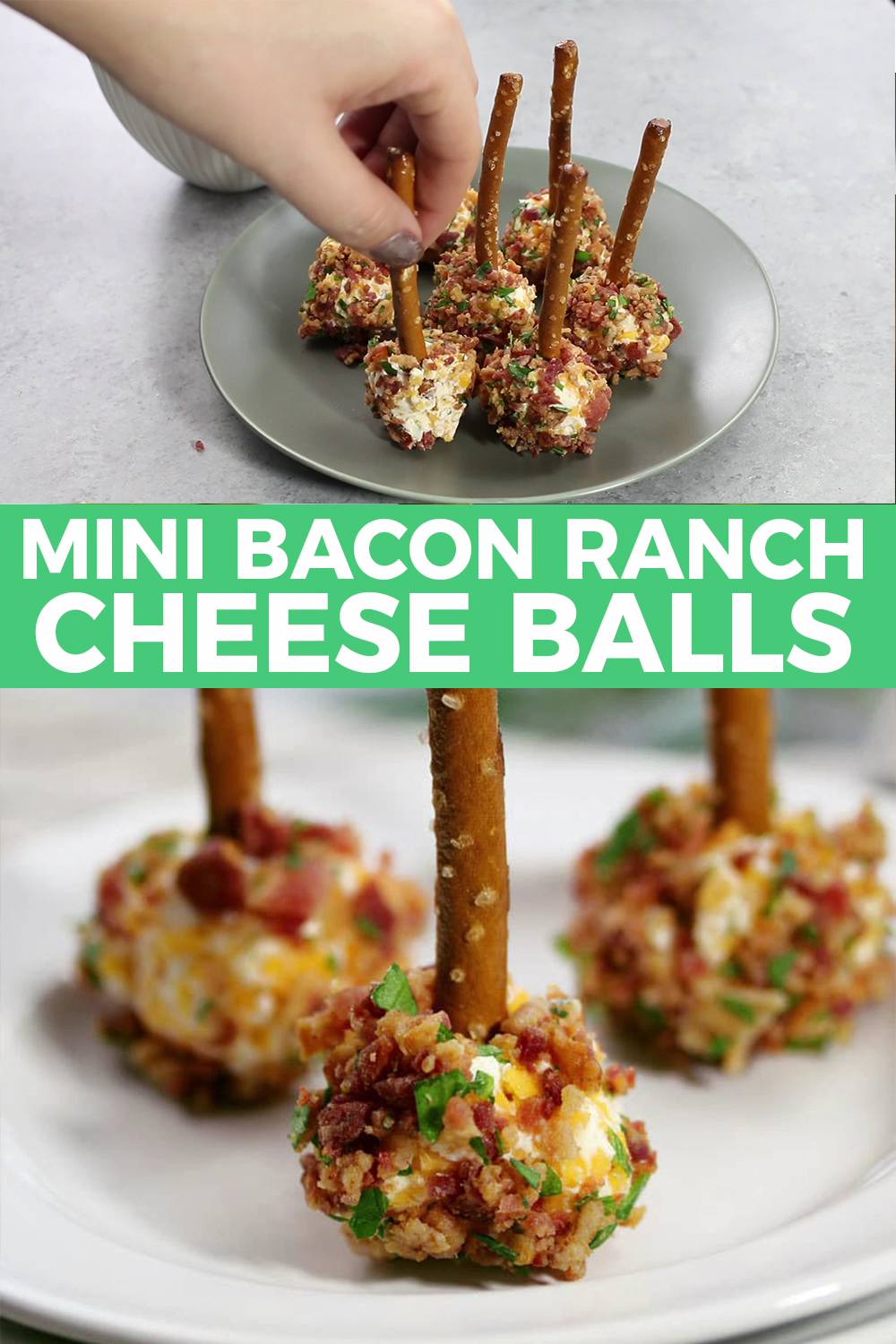 Photo of Mini Bacon Ranch Cheese Balls