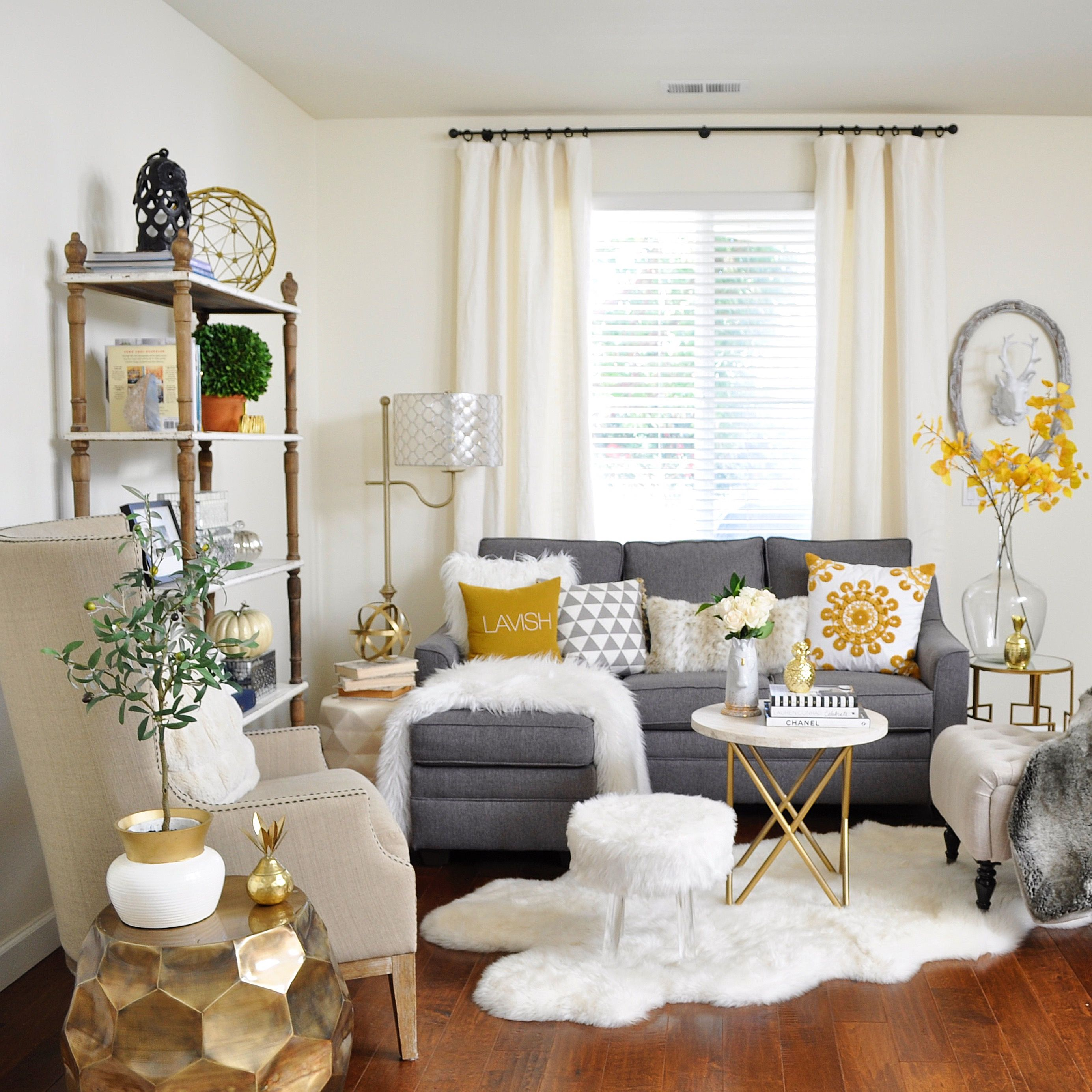 Mustard Accessories For Living Room How To Transition Into Fall Decor Ana Arredondo By