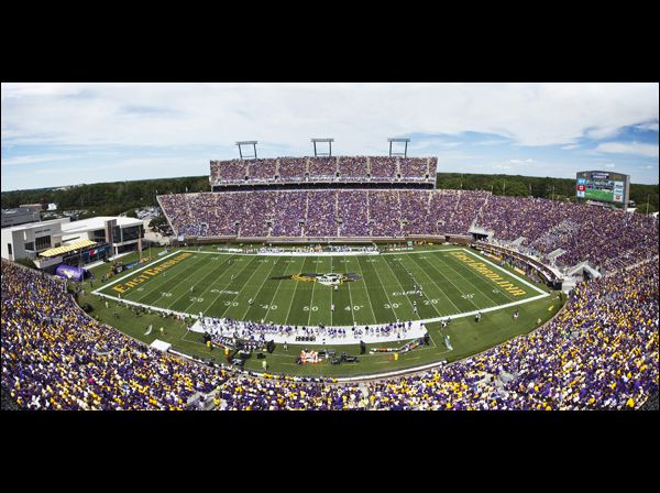 Image Page Click To See More Photos Football Stadiums College Football Fans Northwestern University