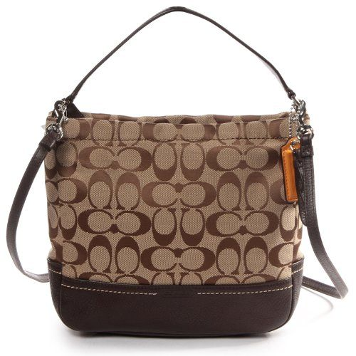 Coach Park Signature Mini Duffle Cross Body F49158 Usa Price 198 00 4 99 Shipping Crossbody