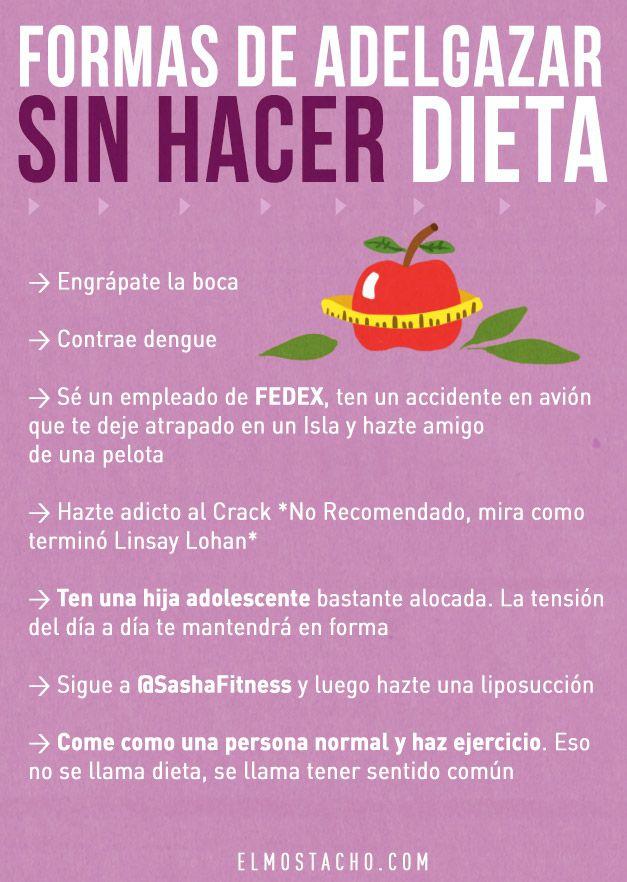 Dieta para adelgazar cara y abdomen