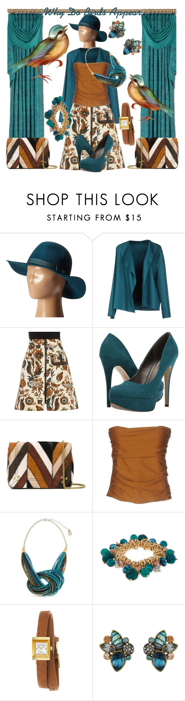 """""""They Long To Be Close To Her"""" by sharee64 ❤ liked on Polyvore featuring Brixton, N_8, Louis Vuitton, Michael Antonio, Jérôme Dreyfuss, Erika Cavallini Semi-Couture, Erica Lyons, Gucci and Chloe + Isabel"""
