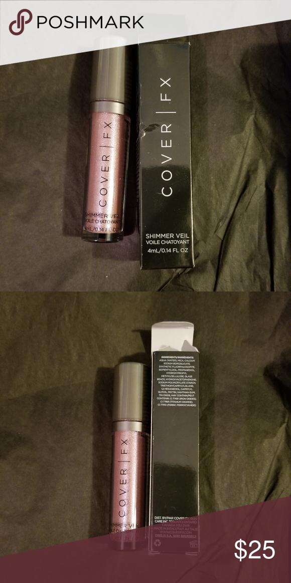 New Cover Fx Amethyst Shimmer Veil Cover Fx Cover Fx Makeup Shimmer